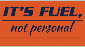 It's fuel, not personal