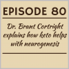 Episode 80 – Dr. Brant Cortright explains how keto helps with neurogenesis