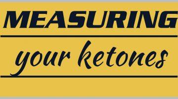 Measuring Your Ketones