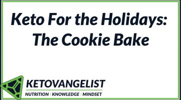 Keto For the Holidays: The Cookie Bake
