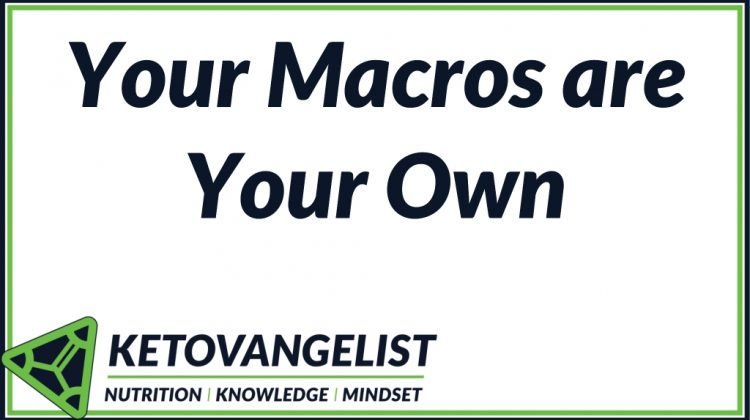 Your Macros are Your Own