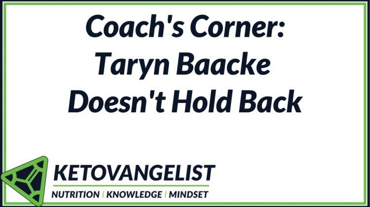 Coach's Corner: Taryn Baacke Doesn't Hold Back