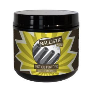 Ballistic Keto MCT Oil Powder Product Photo